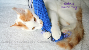 Catnip Pouch Crochet Cat Toy