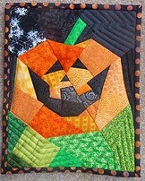 Jack O Lantern Paper Piecing Pattern Favequilts Com