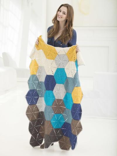 Stevenson's Treasure Island Crochet Blanket