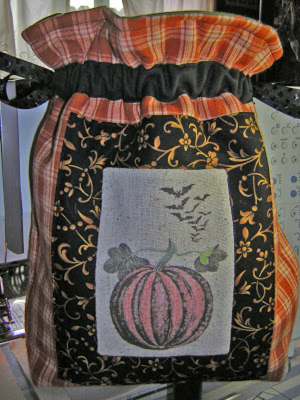Quilted Drawstring Treat Bag Favequilts Com