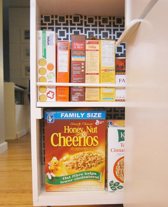 Rolling Pantry DIY Kitchen Storage