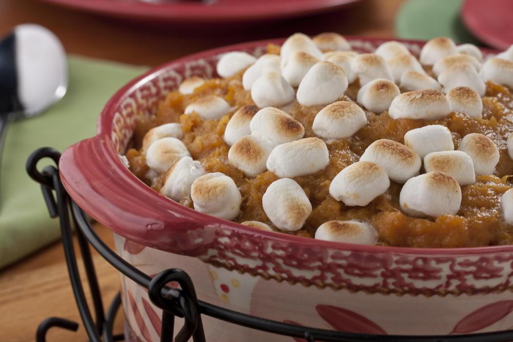 Marshmallow Sweet Potato Bake Mrfood Com