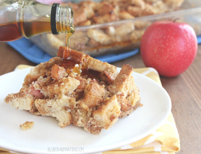 Cinnamon Apple Overnight French Toast