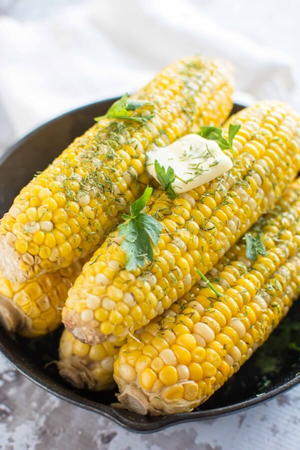 Buttery Dill Corn on the Cob