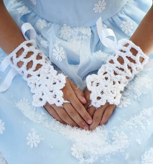 Icicle Cuffs Crochet Pattern