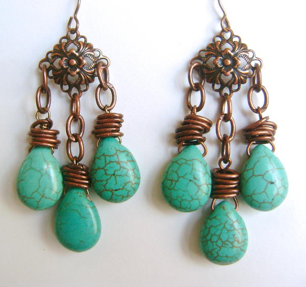 South By Southwest Drop Earrings