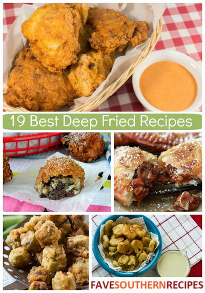 The Best Deep Fried Recipes