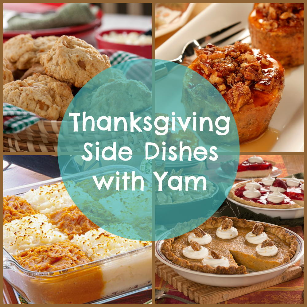 14 thanksgiving side dishes with yam for Rice side dishes for fish