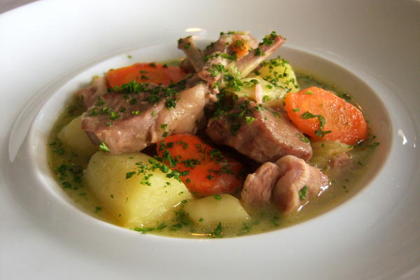 Dressed Up Irish Stew