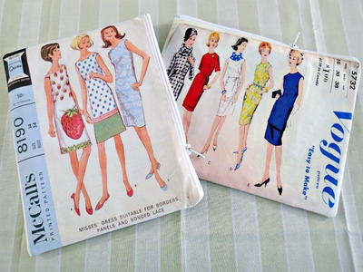 Vintage Patterns Sewing Clutch