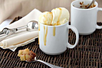Amaretto Caramel Apple Mug Cobblers
