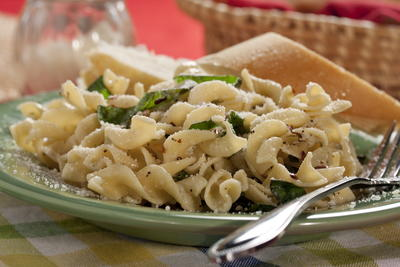 Easy Cheesy Italian Noodles