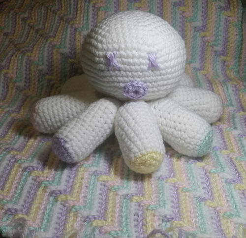 Make an amigurumi octopus with this simple free pattern! | Octopus ... | 484x500