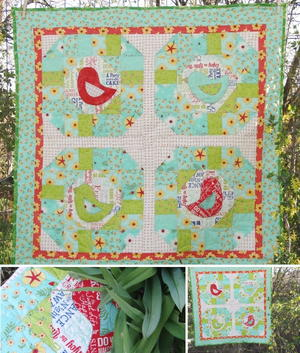 Early Bird Baby Quilt Pattern