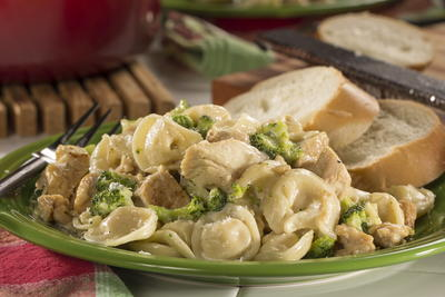 Easy Tortellini One Pot
