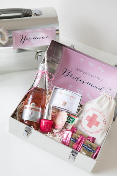 Bridesmaid Lunch Boxes