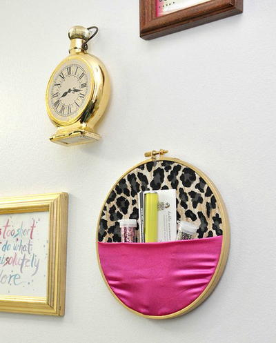 New Sew Embroidery Hoop Wall Organizer