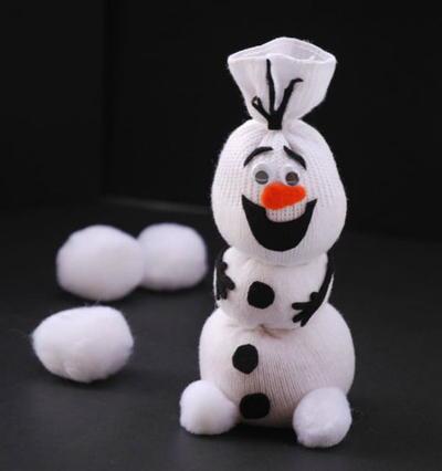 Olaf the Sock Snowman
