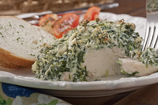 Spinach Dip Chicken