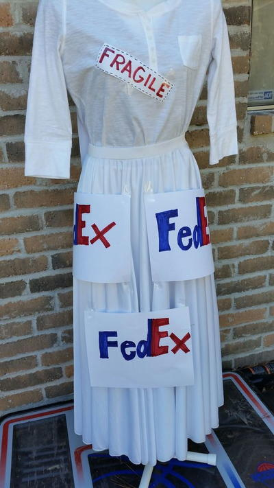 Mail Order Bride DIY Halloween Costume