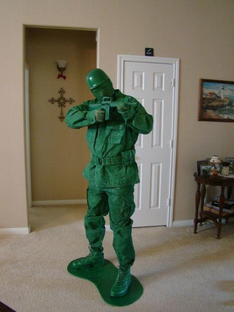 Toy Army Man Diy Halloween Costume Diyideacenter Com