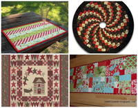 """Deck the Halls: 8 Free Christmas Quilt Patterns"""