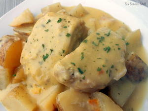Creamy Ranch Pork Chops and Potatoes