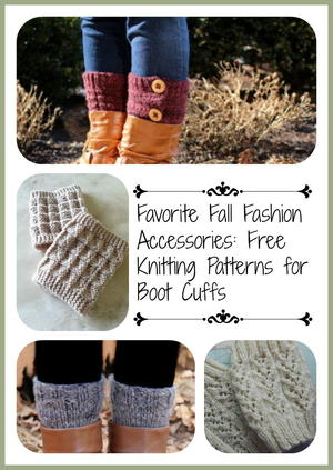 Favorite Fall Fashion Accessories 13 Free Knitting Patterns For