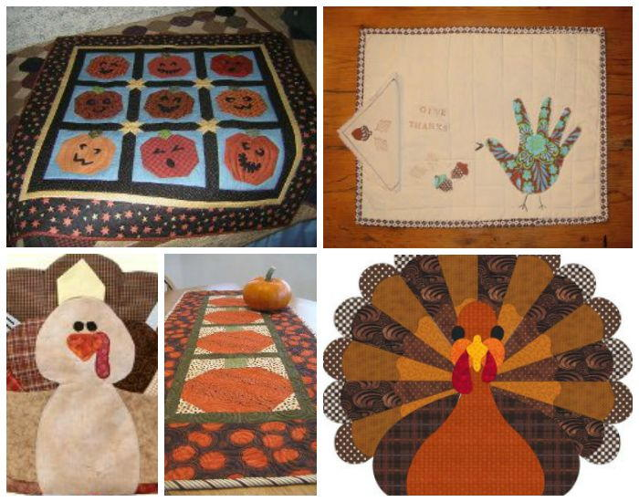 75 Thanksgiving Quilts Fantastic Fall Quilts And Turkey