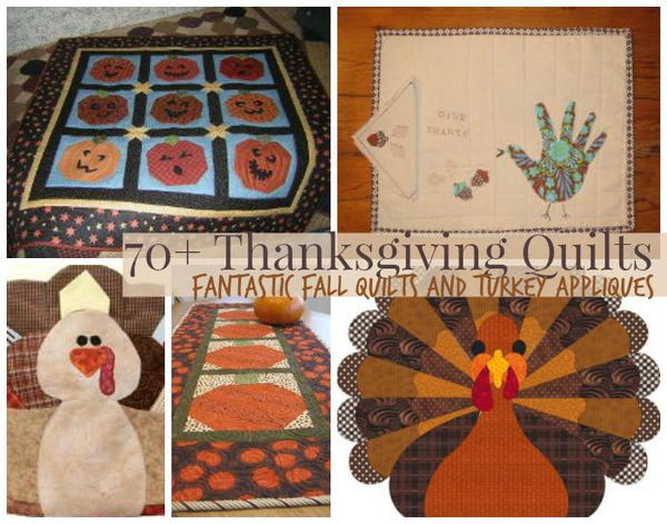 75 Thanksgiving Quilts