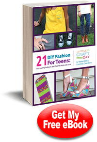 DIY Fashion for Teens: 21 DIY Jewelry and Clothes Kids Will Love free eBook