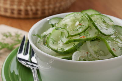 Every Mamas Favorite Cucumber Salad