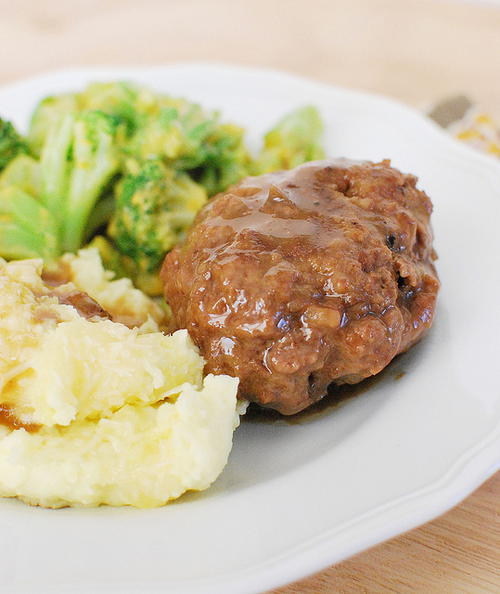 So Savory Salisbury Steak