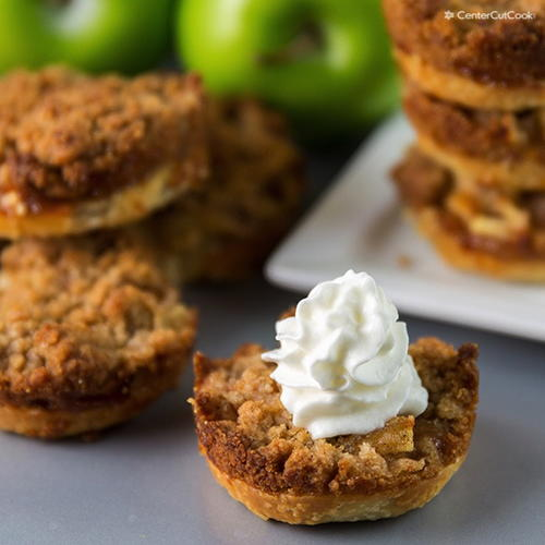 Mini Muffin Tin Apple Pies