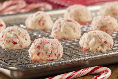 Peppermint Crunch Balls