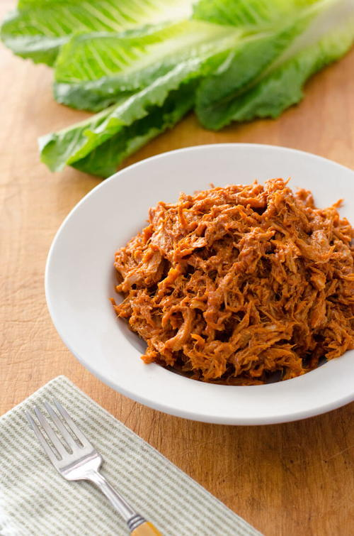 Slow Cooker Paleo BBQ Pulled Pork