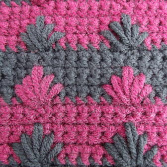 Puff Spike Crochet Stitch Tutorial