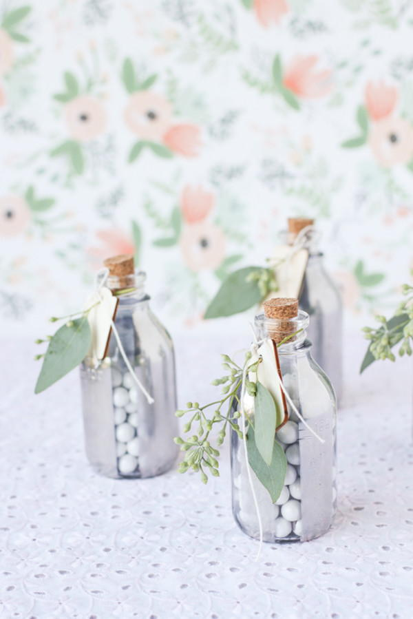 Scented Mirrored Glass Wedding Favors