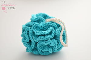 Puffy Crochet Bath Pouf