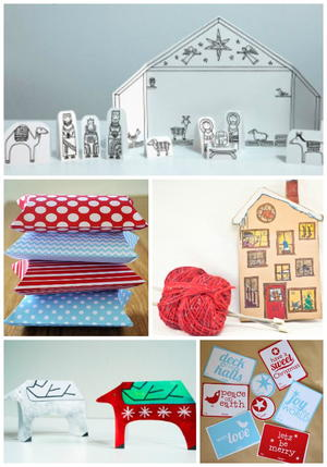 Printable Christmas Craft Freebies | AllFreeChristmasCrafts com