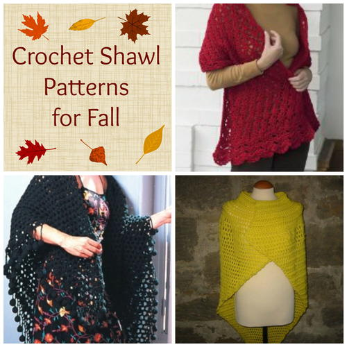 Crochet Shawl Patterns for Fall