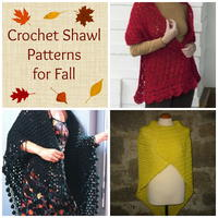 8 Crochet Shawl Patterns for Fall