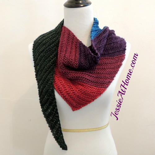 87843d12a Summer s End Triangle Scarf