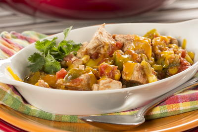Skillet Turkey Stew