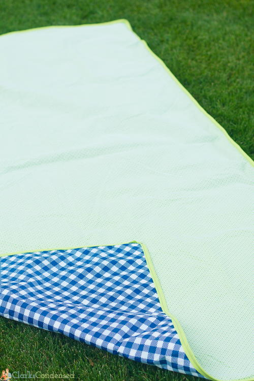Reversible Waterproof Picnic Blanket