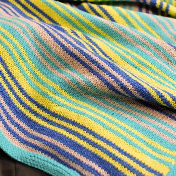 Grow With Me Knit Blanket Pattern AllFreeKnitting.com
