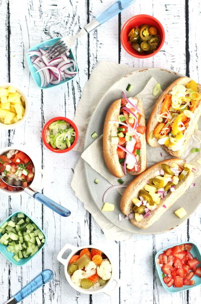 Healthy Vegetarian Hot Dog Toppings