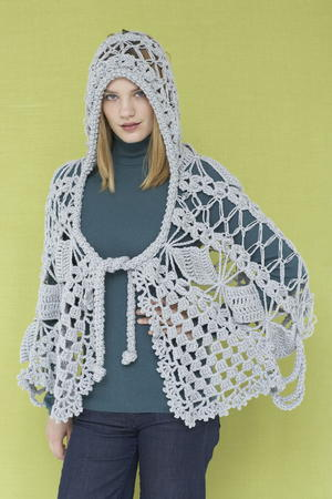 Maid Marion Lace Crochet Shawl