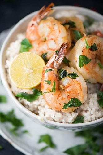 Quick and Easy Herbed Lemon Garlic Shrimp