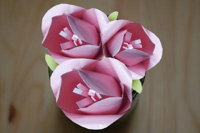 So Sweet Paper Tulips